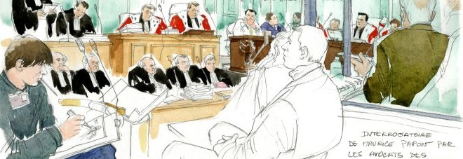 Quand les dessinateurs de Charlie Hebdo « croquaient » la justice…